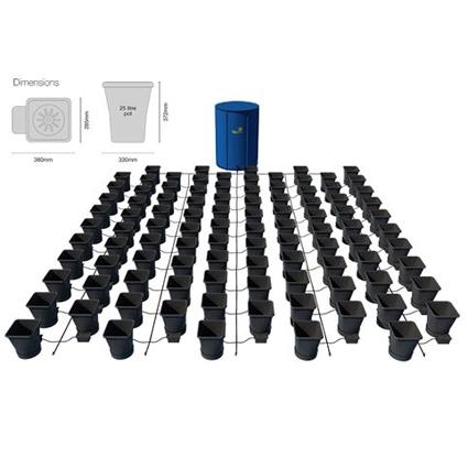 GB Hydro - Autopot Kit - 100 Pot - 750L