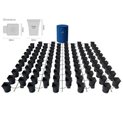 GB Hydro - Autopot XL Kit - 100 Pot - 750L