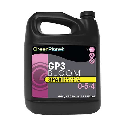 Green Planet - GP3 Bloom 0-5-4 - 3 Part - 1L - GB Hydroponics