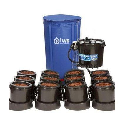 GB Hydro - IWS Flood and Drain Standard (16mm) - 12 Pots - 250L