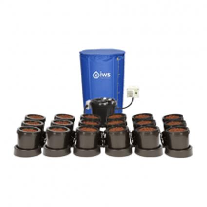 GB Hydro - IWS Flood and Drain Standard (16mm) - 18 Pots - 250L