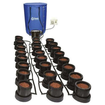 GB Hydro - IWS Flood and Drain Standard (16mm) - 24 Pots - 250L