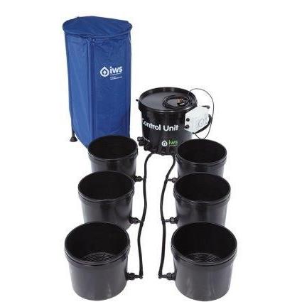 GB Hydro - IWS Flood and Drain Standard (16mm) - 6 Pots - 100L
