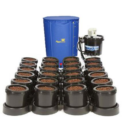 GB Hydro - IWS Flood and Drain Standard Remote (16mm) - 18 Pots - 250L
