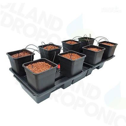 GB Hydro - Wilma Wide Large 8 - 170x75cm - 8 x 11L Pots