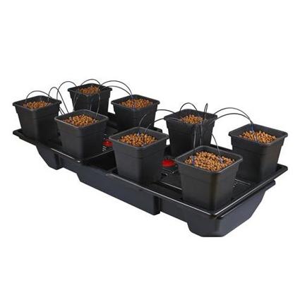 GB Hydro - Wilma Wide XL 8 - 180x90cm - 8 x 18L Pots