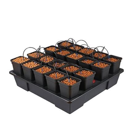 GB Hydro - Wilma XXL 20 - 115x115cm - 20 x 6L Pots