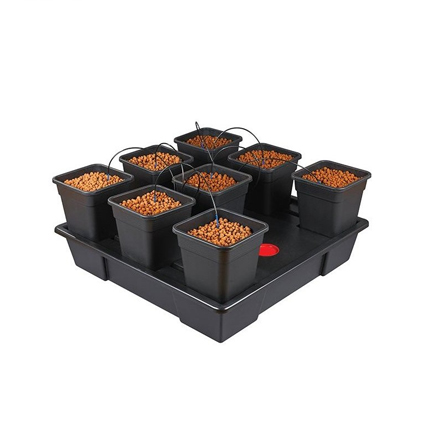 GB Hydro - Wilma XXL 8 - 115x115cm - 8 x 18L Pots